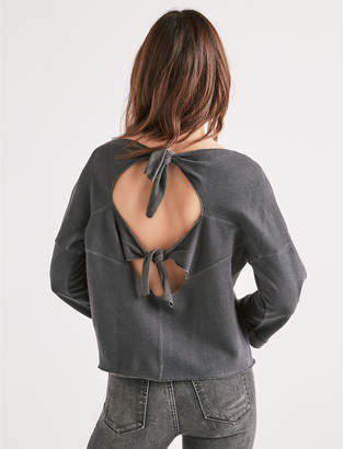 Lucky Brand TIE BACK PULLOVER