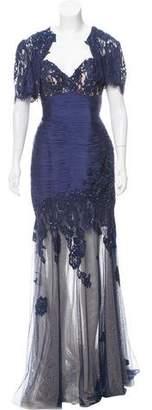 Jovani Silk Evening Dress Set w/ Tags
