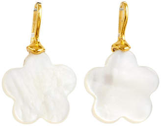 Catherine Canino Mother-of-Pearl Flower Earrings