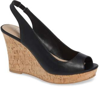 Charles by Charles David Leandra Slingback Wedge