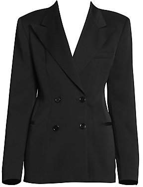 Dries Van Noten Women's Double Breasted Suit Jacket