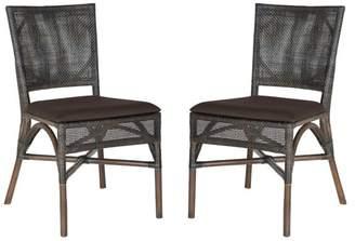Safavieh Capri Rattan Side Chair (Set of 2)
