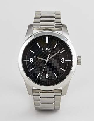 HUGO 1530016 Create bracelet strap watch in silver