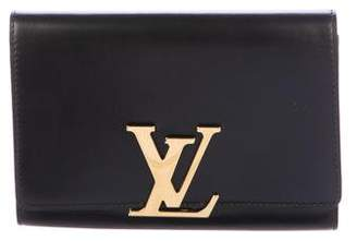 Louis Vuitton Calfskin Louise Clutch
