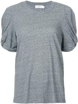 A.L.C. Kati ruched sleeve T-shirt