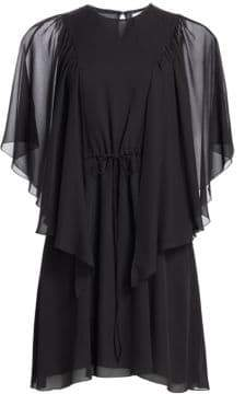 See by Chloe Short Sleeve Drape Dress