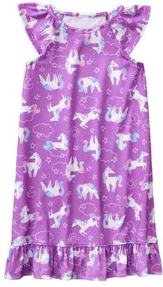 Gymboree Unicorn Night Gown