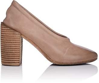 Marsèll Women's Block-Heel Distressed Leather Pumps