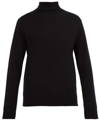 Dunhill Cashmere Roll Neck Sweater - Mens - Black