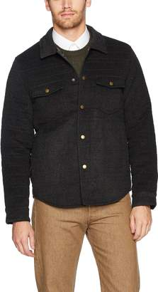 7e8016cf90 Billy Reid Men s Quilted Brass Snap Michael Jacket Suede Details