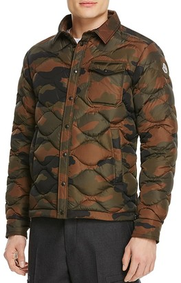 Moncler Nambour Camo Quilted Down Jacket $1,250 thestylecure.com