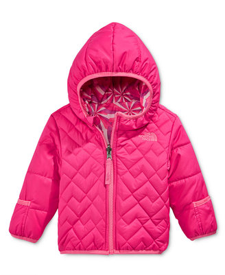The North Face Baby Girls' Reversible Perrito Hooded Jacket $70 thestylecure.com