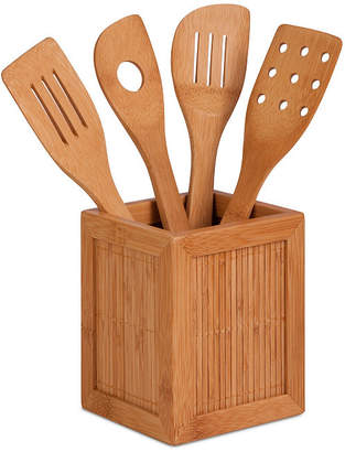 Honey-Can-Do Bamboo Utensils and Kitchen Caddy