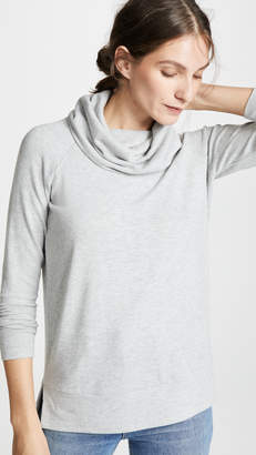 Cupcakes And Cashmere Luca Cowl Neck Sweatshirt