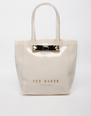 Ted Baker Plain Bow Small Icon Bag