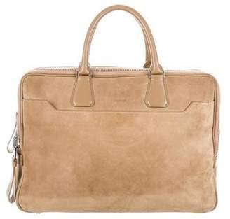 Tom Ford Suede Briefcase
