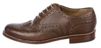 Grenson Leather Wingtip Brogues