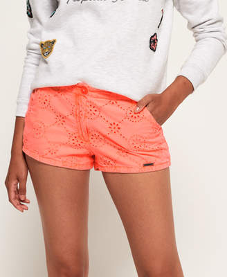 Superdry Broderie Chino Shorts