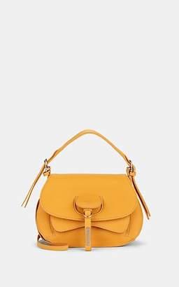 Fontana Milano Women's Wight Toy Saddle Crossbody Bag - Yellow