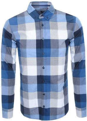 a86e46204 Blue And Navy And White Check Shirt - ShopStyle UK