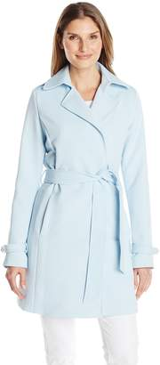 T Tahari Women's Monica Trench Coat