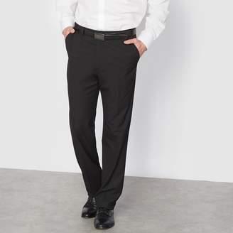 D+art's CASTALUNA MEN'S BIG & TALL Stretch Suit Trousers Without Darts, Length 2