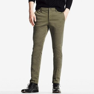 Men Ultra Stretch Skinny Fit Chino Flat Front Pants $39.90 thestylecure.com