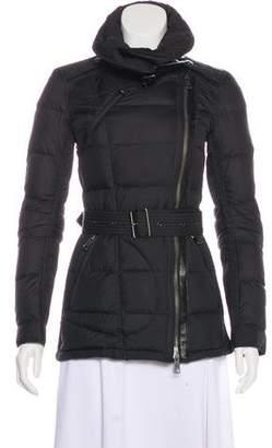 Burberry Zip-Up Down Jacket