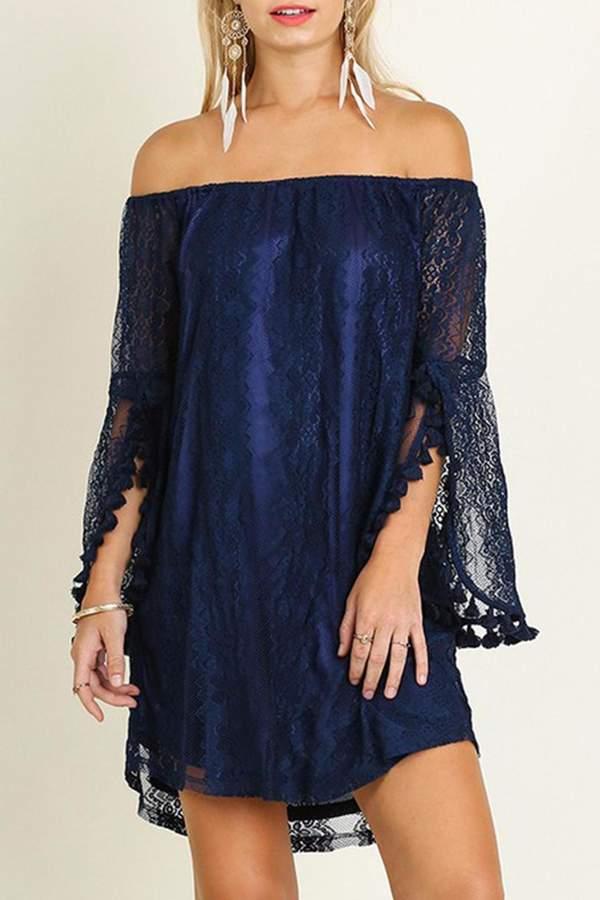 Umgee USA Bohemian Lace Dress