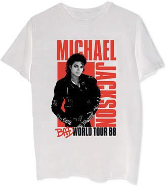 Michael Jackson Bad World Tour Men's Graphic T-Shirt