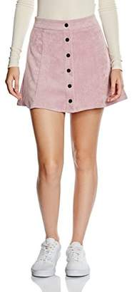 Glamorous Women's Button Down Skirt,(Manufacturer Size:Medium)