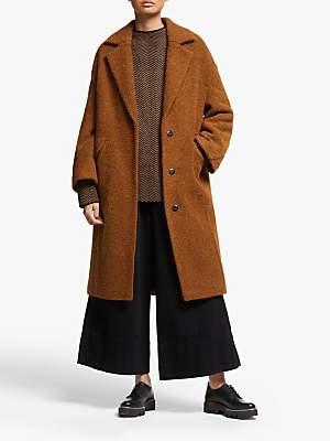 KIN Angled Seam Cocoon Coat