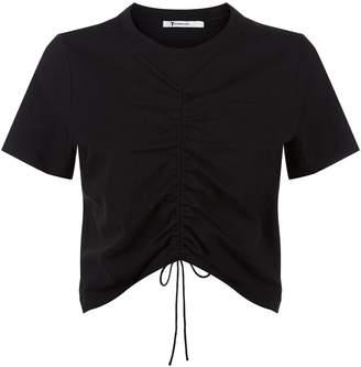 Alexander Wang Ruched Cropped T-Shirt