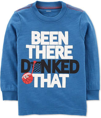 Carter's Baby Boys Dunked That Graphic Cotton Shirt