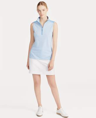 Ralph Lauren Tailored Fit Sleeveless Polo