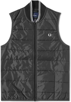 Fred Perry Authentic x Lavenham Quilted Gilet