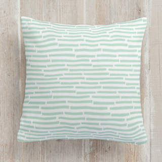 Organic Bricks Square Pillow