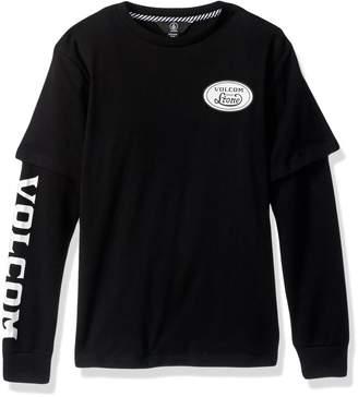 Volcom Big Boys' Easton Two Fer Shirt