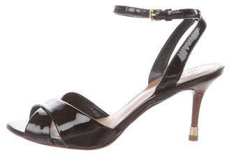 Tory Burch Patent Leather Slingback Pumps