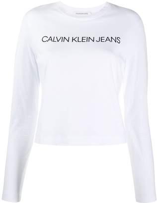 Calvin Klein Jeans Institutional Logo Long Sleeve jumper