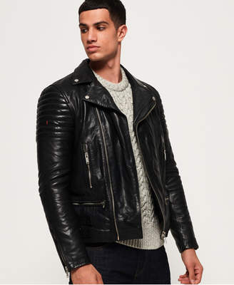Superdry Premium Classic Leather Jacket