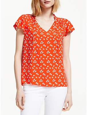 Boden Angelica Daisy Print Top