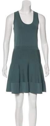 A.L.C. Scoop Neck Flared Dress