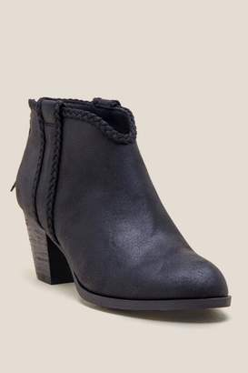 fe5939306268 Womens Report Black Ankle Boots - ShopStyle