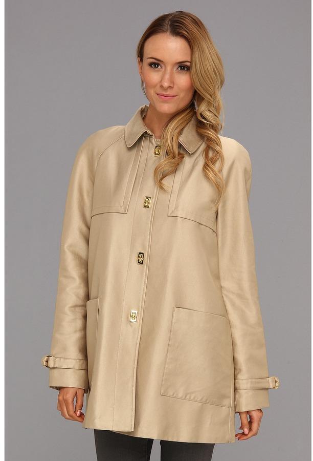 Pendleton Water-Resistant Swing Coat (Wheat) - Apparel