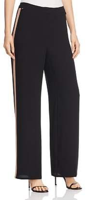 Eileen Fisher Petites Silk Side Stripe Pants