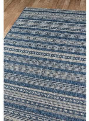Momeni Novogratz By Tuscany Blue Indoor/Outdoor Area Rug Rug