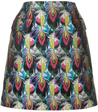 Mary Katrantzou Clovis jacquard skirt