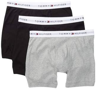 Tommy Hilfiger Cotton Boxer Brief - Pack of 3 $39.50 thestylecure.com