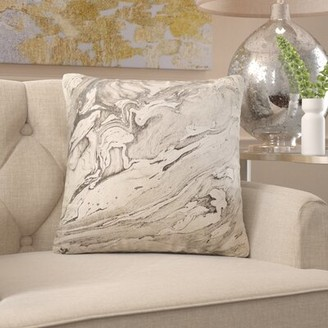 Melange Home Everly Quinn Preesall Indoor/Outdoor Throw Pillow Everly Quinn